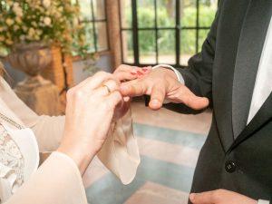 intercambio de anillos boda