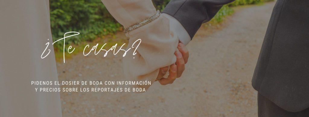 Información de fotos de boda