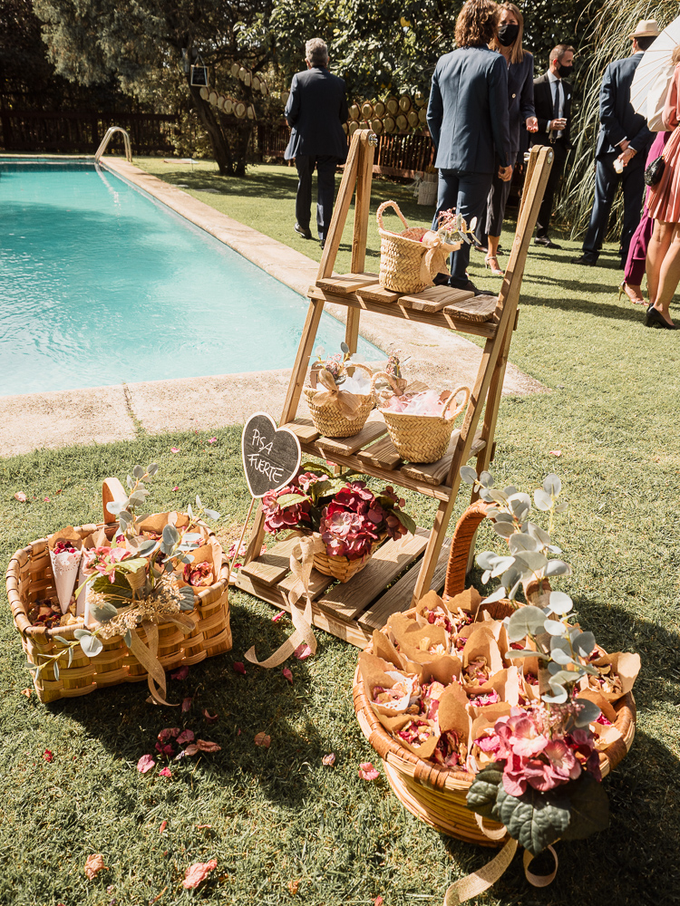 decoración sencilla de bodas