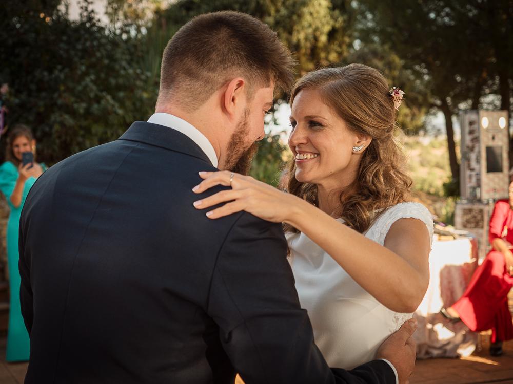 baile de novios en boda