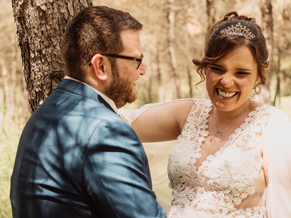 Sesion de fotos de boda en Leganes