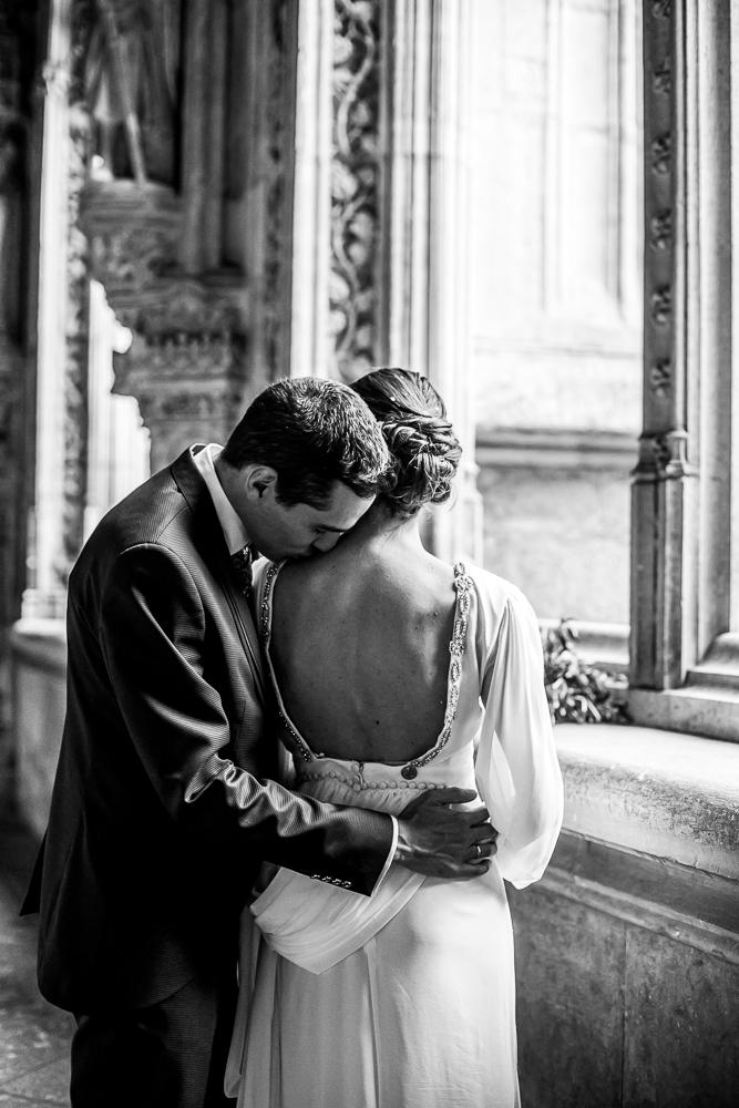 Fotos de boda en la catedral de Toledo