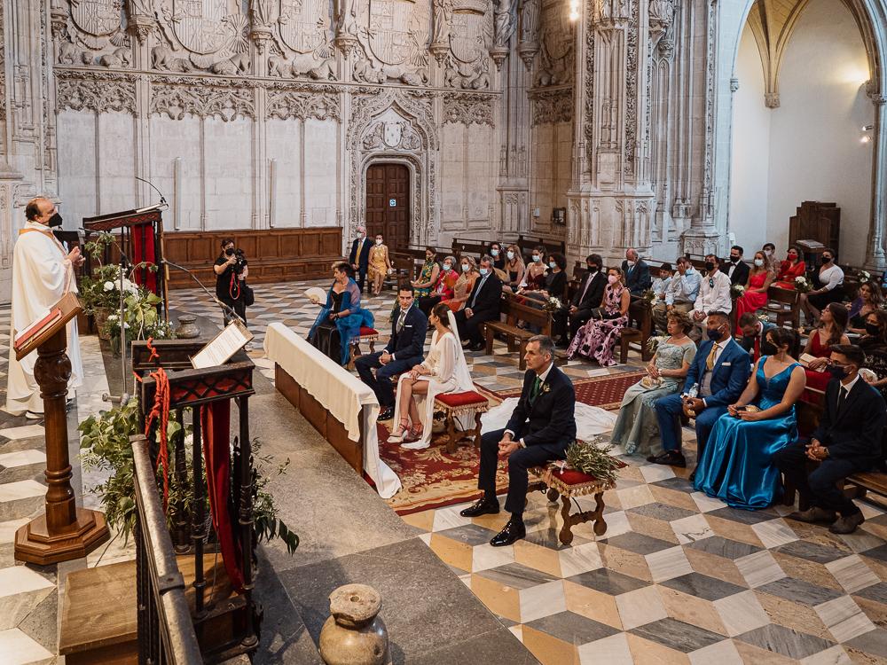 Boda en Catedral de Toledo