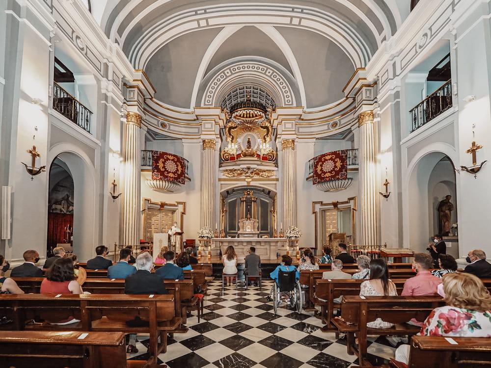 boda en Basílica de Atocha